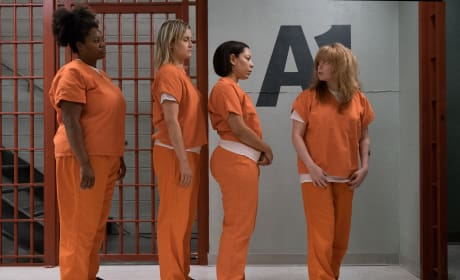 Waiting in Line - Orange is the New Black