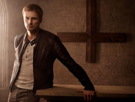 Bradley James is Damien Thorn