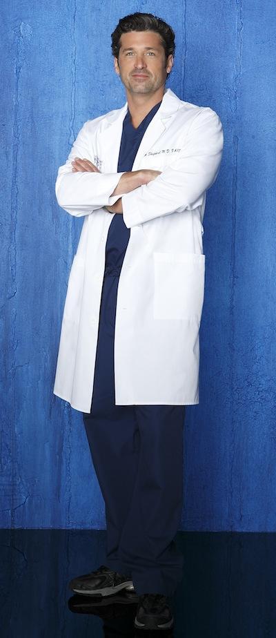 Patrick Dempsey as Dr. Derek Shepherd