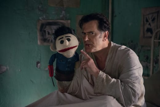 Ash and Ashy Slashy - Ash vs Evil Dead Season 2 Episode 7