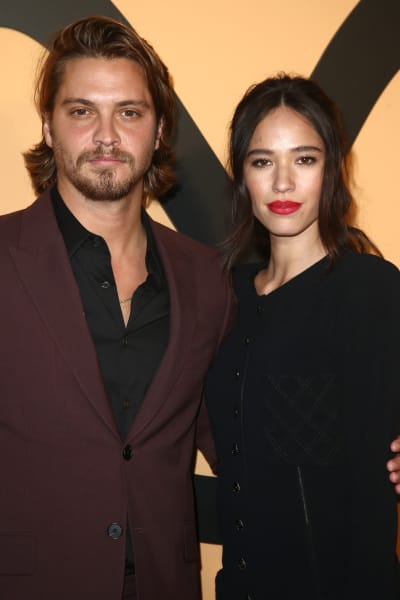 Luke Grimes and Kelsey Asbille at the Paramount Premiere Party - Yellowstone