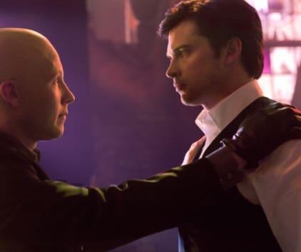 Lex Luthor and Clark