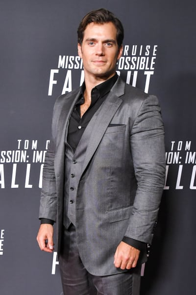 Henry Cavill Attends Mission: Impossible Premiere