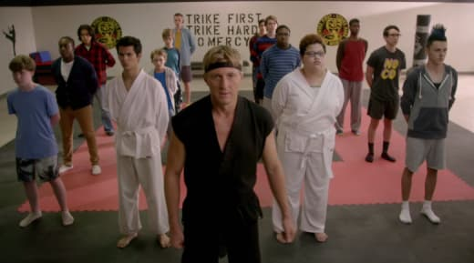 Cobra Kai group