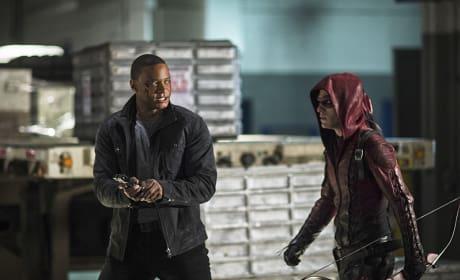 Keep Up! - Arrow Season 3 Episode 10