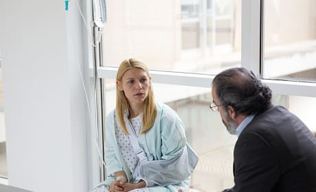 Carrie at the Hospital