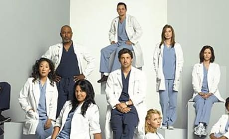 Grey's Anatomy Cast: Season Four