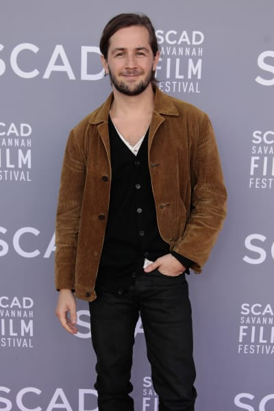 Michael Angarano Attends Event