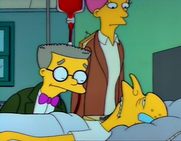 Mr. Burns is Sick