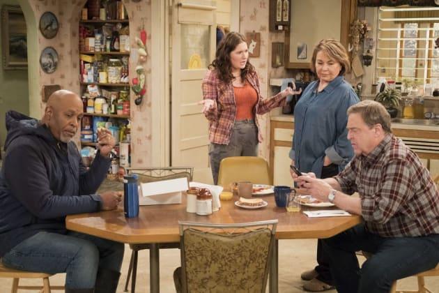 Family Time - Roseanne Season 10 Episode 9