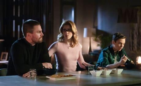 Family Issues  - Arrow Season 7 Episode 13