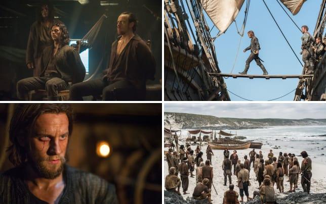 Captain flint and silver caught black sails s2e1