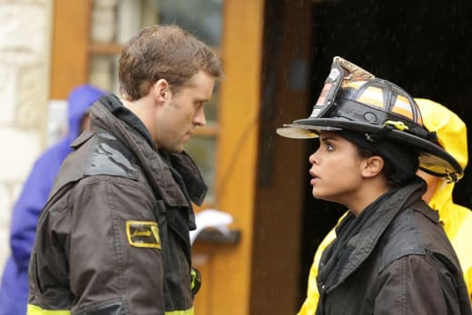 Dawsey to the rescue - Chicago Fire Season 3 Episode 8
