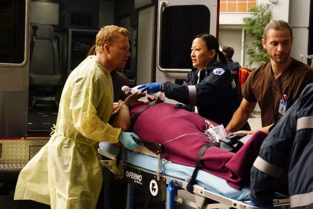 Status Report - Grey's Anatomy Season 13 Episode 15