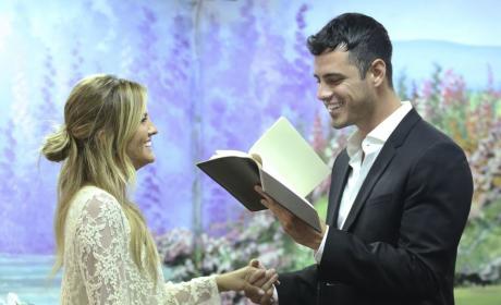 Becca Gets a Wedding Dress - The Bachelor