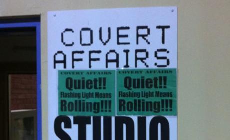 Covert Affairs Set Visit
