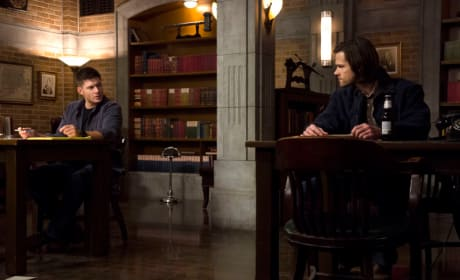 Winchester Brothers Tension Staredown