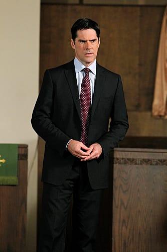 Hotch on Criminal Minds