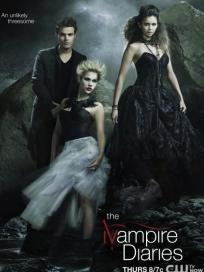 The Vampire Diaries Threesome Poster