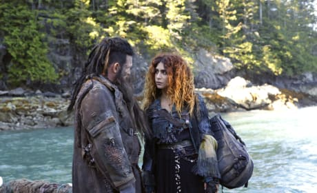 Nyko and Luna - The 100 Season 4 Episode 4