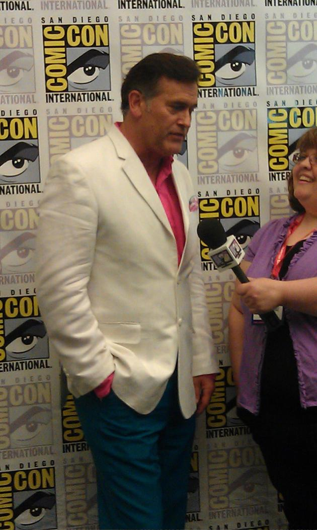 Bruce Campbell Comic Con