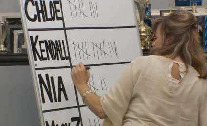 Dance Moms Review: A White Board and Its Tallies