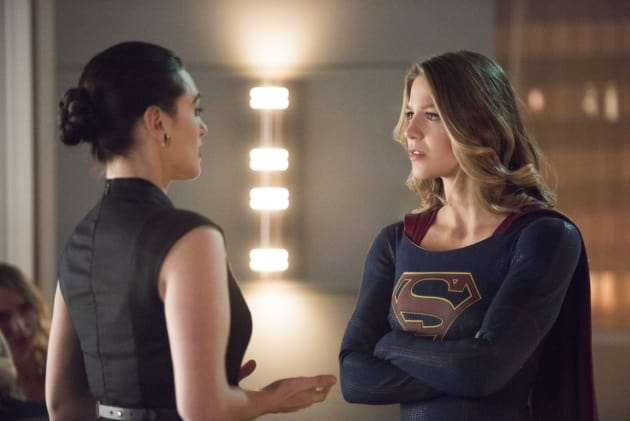 Supergirl Questions Lena - Supergirl Season 2 Episode 15