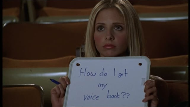 "Buffy the Vampire Slayer Season 4 Episode 10, ""Hush"""