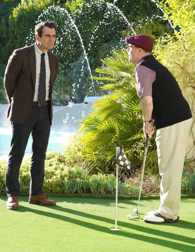 Phil and Pepper Play - Modern Family Season 10 Episode 14