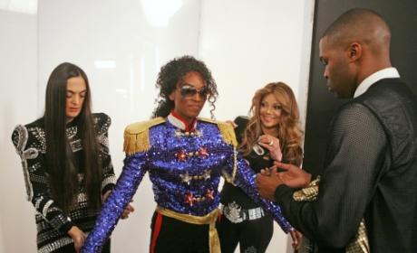 LaToya Jackson on America's Next Top Model