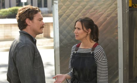 Molly and Riggs Discuss the Future - Lethal Weapon Season 2 Episode 17