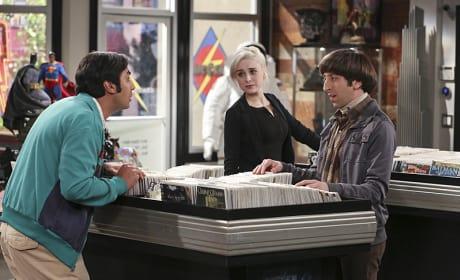A New Woman for Raj? - The Big Bang Theory Season 9 Episode 14