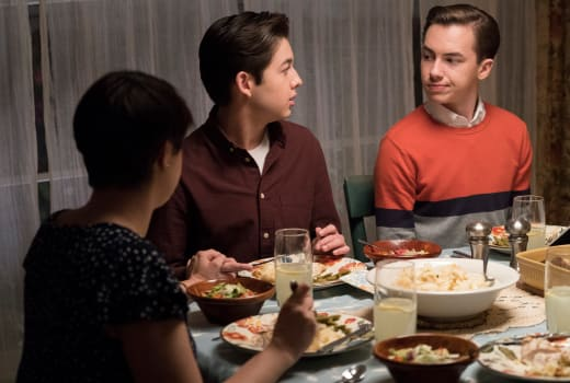 Dinner Conversation - The Fosters Season 5 Episode 16