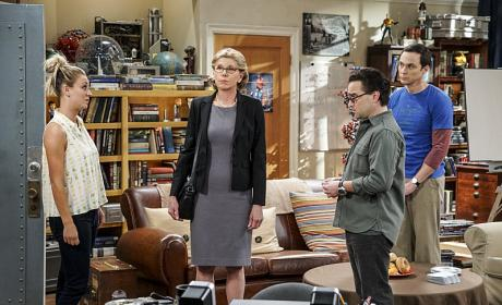 Awkward Family Moment - The Big Bang Theory Season 10 Episode 1