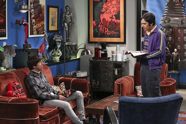 Howard and Raj Scene - The Big Bang Theory Season 9 Episode 4