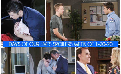Days of Our Lives Spoilers Week of 1-20-20: The Tragic Past Revealed!