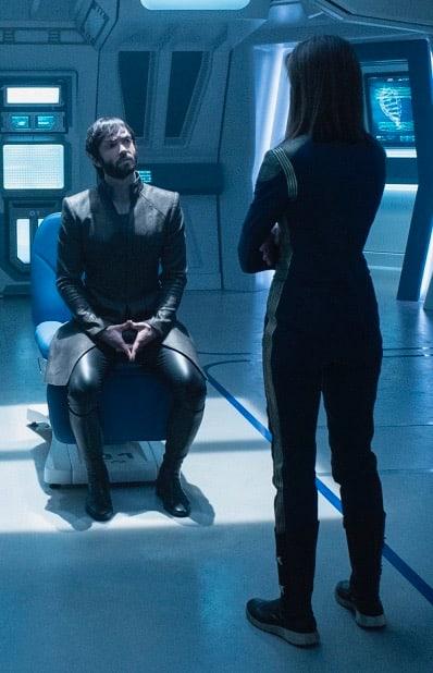 Spock and Cornwell - Star Trek: Discovery Season 2 Episode 9
