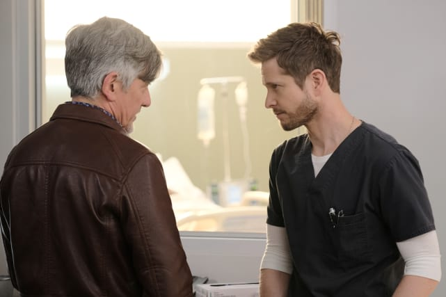 Pulled Aside - The Resident Season 2 Episode 14