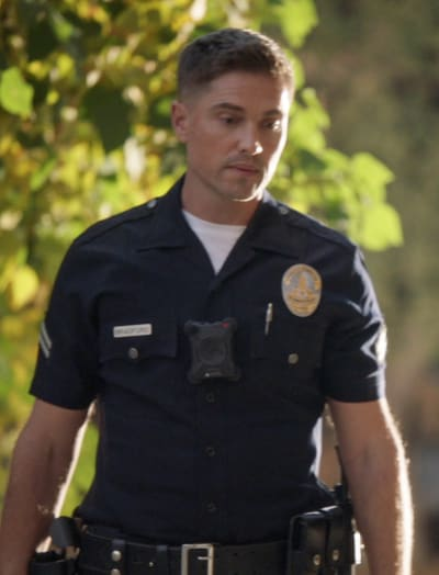 Officer Bradford - The Rookie Season 3 Episode 3