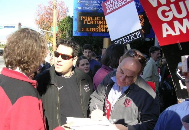 On the Picket Line