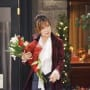 Kate Leaves Flowers - Days of Our Lives