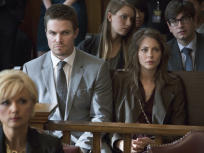 Oliver and Thea Look On
