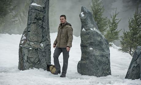 Back in the Coat - Arrow Season 3 Episode 9