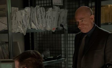 Howard Alpha in the Evidence Room - Counterpart Season 2 Episode 5
