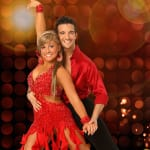 Shawn Johnson and Mark Ballas Photo