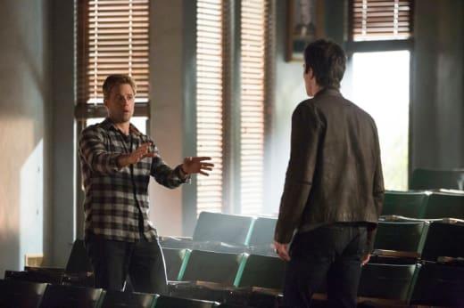 Aaron Talks to Damon