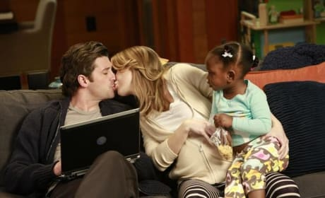 Derek, Meredith and Zola
