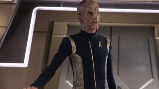 First Officer Saru - Star Trek: Discovery Season 1 Episode 3
