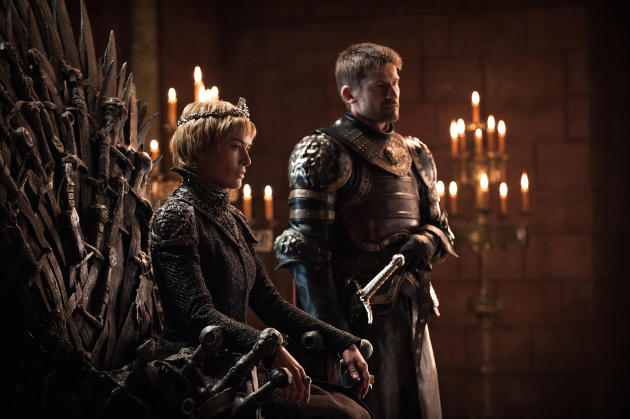 Cersei Crowned - Game of Thrones
