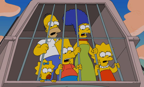 The Wrong Ride - The Simpsons